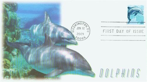 2009 64c Dolphin