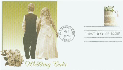 2009 61c Wedding Cake