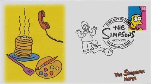 2009 44c Marge Simpson