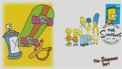 2009 44c Bart Simpson