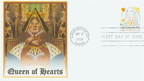 2009 44c Love - Queen of Hearts