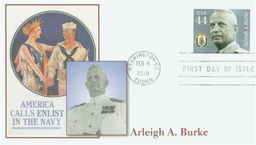 2010 44c Distinguished Sailors: Arleigh A. Burke