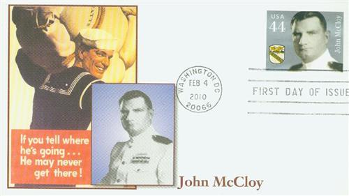 2010 44c Distinguished Sailors: John McCloy
