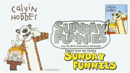 2010 44c Sunday Funnies-Calvin & Hobbes