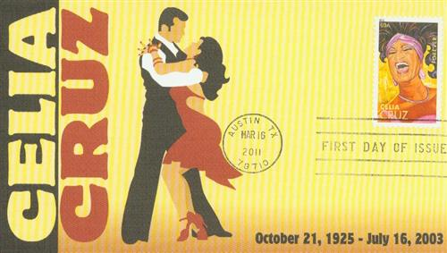 2011 First-Class Forever Stamp -  Latin Music Legends: Celia Cruz