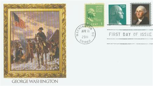 2011 20c George Washington