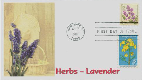 2011 29c Herbs: Lavender
