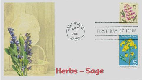 2011 29c Herbs: Sage