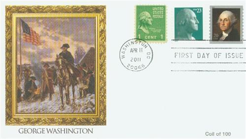 2011 20c George Washington, coil
