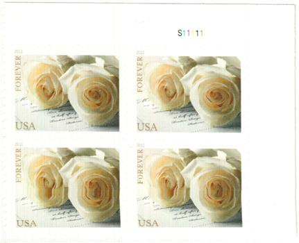 2017 First Cl Forever Stamp Wedding Roses For At Mystic Company