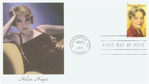2011 First-Class Forever Stamp -  Helen Hayes
