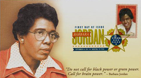 essay about barbara jordan In order to have a better future (jordan, 1976) 3 jordan does not attack the opposition (i e , the republicans) which is customary in a keynote address.