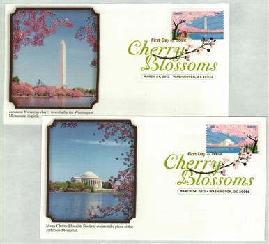 2012 First-Class Forever Stamp - Cherry Blossom Centennial