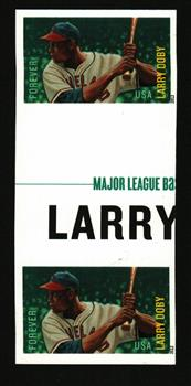 2012 First-Class Forever Stamp - Imperforate Major League Baseball All-Stars: Larry Doby