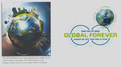2013 $1.10 Earth Global Forever