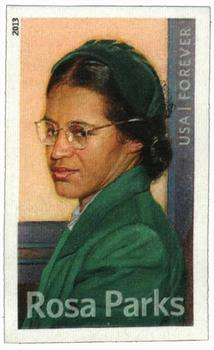 2013 First-Class Forever Stamp - Imperforate Rosa Parks