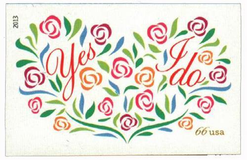 2013 66c Imperf Wedding - Yes I Do