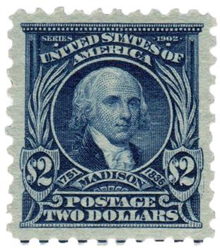 1916-17 $2 Madison, dark blue