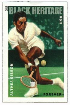 2013 First-Class Forever Stamp - Imperforate Althea Gibson