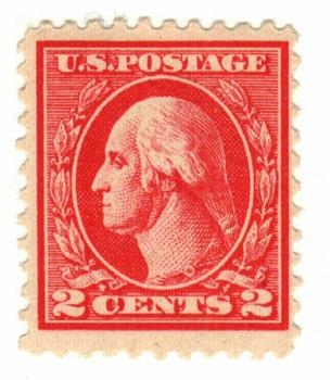 1920 2c Washington, carmine, perf 11, type Va