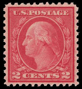 1921 2c Washington, carmine rose