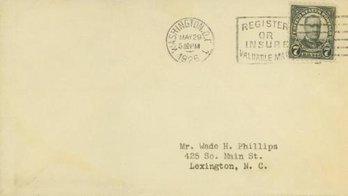 1926 7c McKinley, black