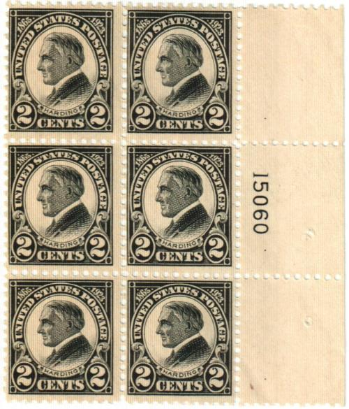 1923 2c W G Harding Perf 11 For Sale At Mystic Stamp Company