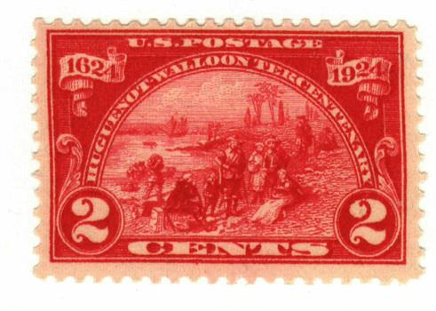 1924 2c Huguenot-Walloon Tercentenary: Landing at Fort Orange