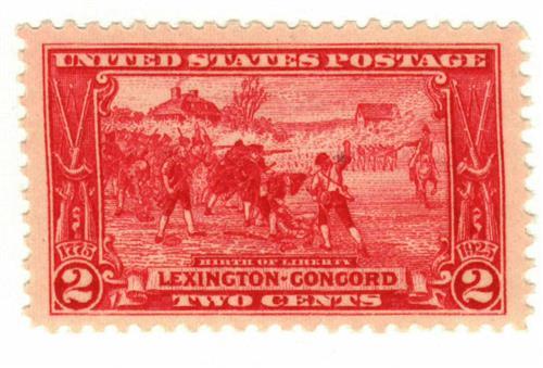1925 2c Lexington-Concord Issue: Birth of Liberty