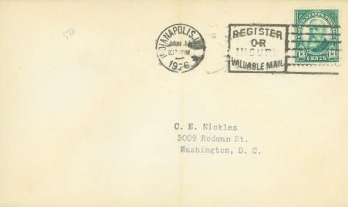 1926 13c Harrison, green