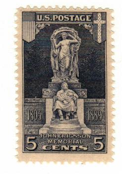 1926 5c Ericsson Memorial