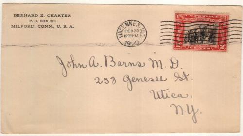 1929 2c George Rogers Clark