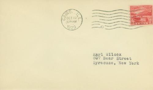 1929 2c Ohio River Canalization