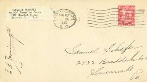 1930 2c Carolina-Charleston Issue