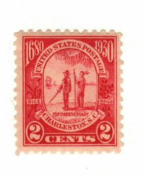 1930 2c Carolina-Charleston Issue