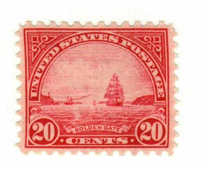 1931 20c Golden Gate