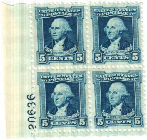 1932 Washington Bicentennial: 5c Washington by Charles