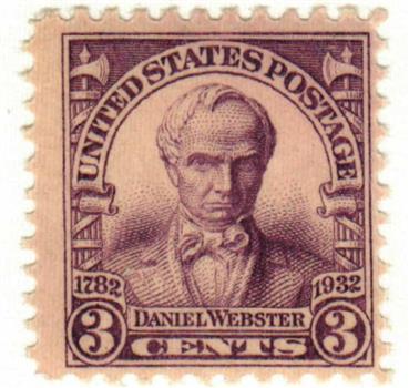 1932 3c Daniel Webster