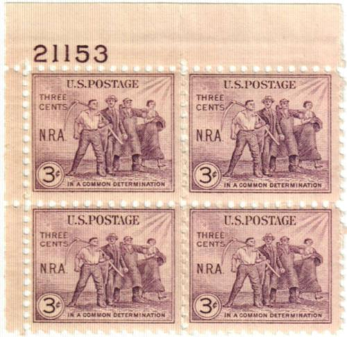 1933 3c National Recovery Act