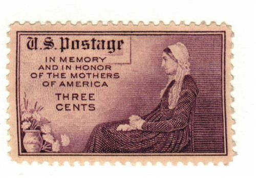 1934 3c Mothers of America, Rotary press