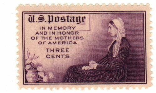 1934 3c Mothers of America, Flat Plate