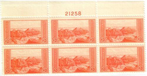1934 2c National Parks: Grand Canyon, Arizona