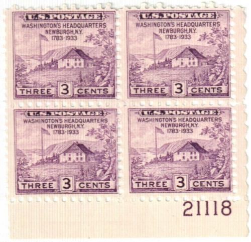 1935 3c Peace of 1783 Sesquicentennial, no gum