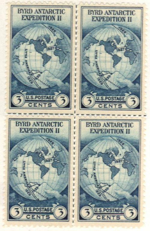 1935 3c Byrd Antarctic Expedition