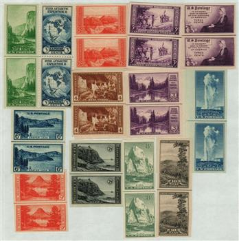 1935 Farley's Follies - Line-Pair Collection of 13