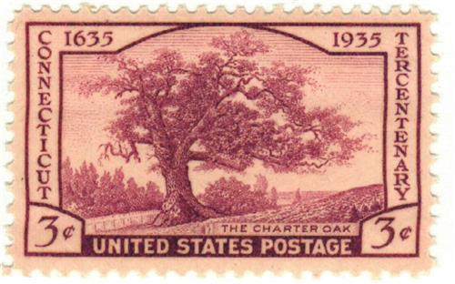 1935 3c Connecticut Tercentenary