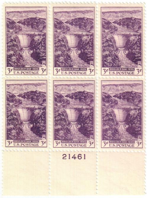1935 3c Dedication of Boulder Dam