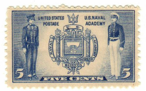 1937 5c Seal Of US Naval Academy For Sale At Mystic Stamp Company