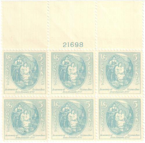 1937 5c Virginia Dare