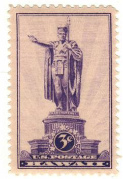 1937 3c Hawaii